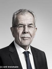 Dr. Alexander Van der Bellen, Bundespräsident Österreich