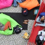 entspannt lesen, lesend entspannen bei StadtLesen in Wildau