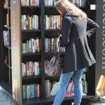 Die Qual der Bücherwahl bei StadtLesen in Berlin...