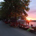 StadtLesen_Bregenz_Seepromenade_Sonnenuntergang