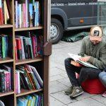 Lesen im urbanen Raum