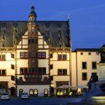 Rathaus bei Nacht_Quelle TVFranken, SW360°, Andreas Hub