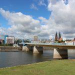 Stadtbrücke Frankfurt (Oder) - Slubice Sommer