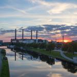 Blick von Berliner Brücke Copyright Foto Stadt Wolfsburg